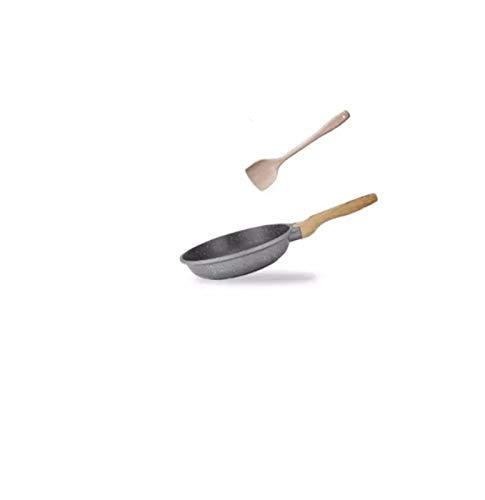 Wok woks sarten Sartenes de fritura wok sin palanca sin palanca sin humo cocina plana plana cocinando pote para el hogar sartén inducción cocinar cacerola fundido hierro cacerola cocinar wok