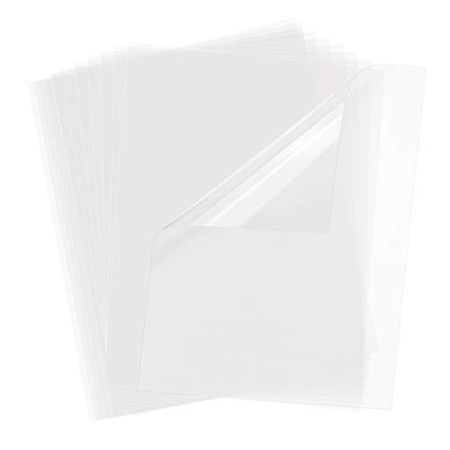 Transparency Film for Inkjet Printers 30 Sheets 100% Clear 8.5 x 11 Inches