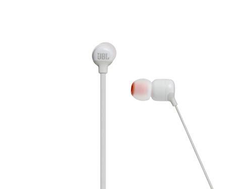 JBL Tune110BT In-Ear Bluetooth-Kopfhörer in Weiß – Kabellose Ohrhörer mit integriertem Mikrofon – Musik Streaming bis zu 6 Stunden mit nur einer Akku-Ladung Bild 2*