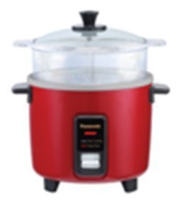 PANASONIC SR-W10FGEL Automatic Rice Cooker/Steamer - Color BURGUNDY