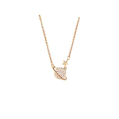 Lucky Meet Fashion Simple Women Necklace Shining Bling AAA Zircon Women Clavicle Chain Elegant Charm Wedding Pendant Jewelry Lucky Necklace