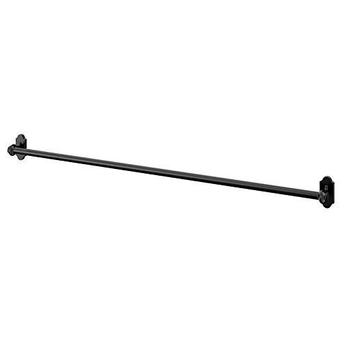 Estantes de cocina y baño de marca FINTORP, barra (A04 riel negro 79 cm)