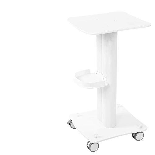 Carretilla para estantería de salón, peluquería, carlinga para salón con soporte de aluminio carretilla con ruedas para spa para soplado pequeño rejuvenecimiento de belleza
