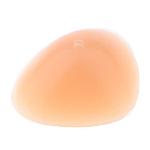 non-brand Cojín de Inserción de Sujetador Seno Falso de Silicona Realista para Mastectomía, Cáncer de Mama, Travestis - tal como se describe, 400 g