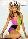 Cosmopolitan Magazine - Claudia Schiffer on Cover - Joan Rivers Speaks of Her Husband s Suicide (February, 1992)