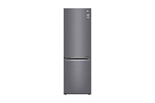 Réfrigérateur combiné Lg GBP31DSLZN - Réfrigérateur congélateur bas - 341 litres - Réfrigerateur/congel : No Frost / No Frost - Dégivrage automatique - Inox - Classe A++ / Pose libre