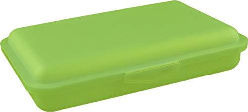 Buchsteiner Klickbox flach mit Inneneinteilung (Limone)