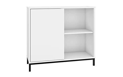 Mobile Ingresso, Mobile Soggiorno, Consolle Ingresso, Mobiletto Multiuso Ufficio, Mobiletto, Mobile Ingresso Moderno Bianco