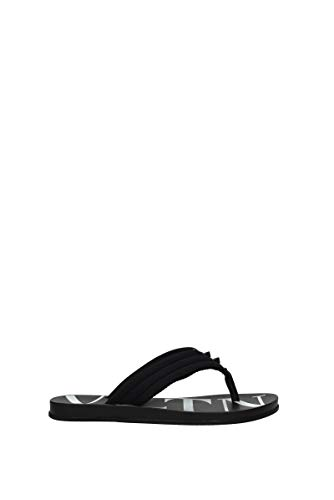 Valentino VLTN SY2S0B56TQF 0NI - Sandalias de goma para hombre, color negro Negro Size: 40 EU