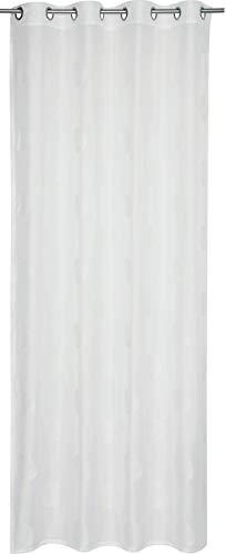 Esprit Home Culo-S Rideau à œillets Tissu, Weiss, 250 x 140 cm