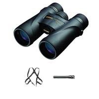 Nikon 12x42 Monarch 5 Roof Prism Binocular Black Bundle with Accessory Kit