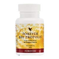 Forever Living Bee Propolis 100% Natural, 60 Tablets