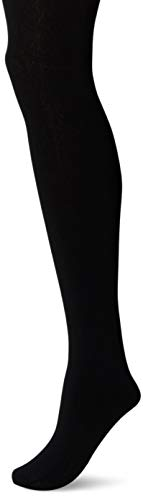 Motherhood Maternity Women's Maternity Pull On Fleece Tights, Black, B