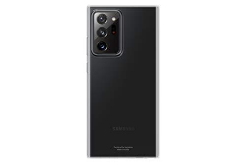 Samsung Clear Cover Smartphone Cover EF-QN985 für Galaxy Note20 Ultra 5G Handy-Hülle extra-dünn & griffig, Schutz Hülle, durchsichtig, transparent