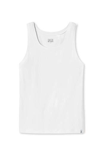 Schiesser Herren Long Life Cotton Shirt 0/0 Unterhemd, Weiß (Weiss 100), 7