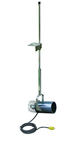 Scott Aerator 1HP, 115V Muck Blaster - 50ft Cord | 1HP Aquasweep w/Dock Mount | Water Circulator | Water Agitator | Water Mover | Muck Blower