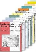 Piano Theory: Fundamentals of Piano Theory Books (Keith Snell Series, Primer-Level 10, 11 Book Set)