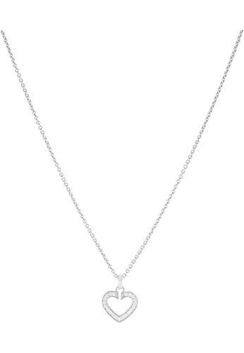 JETTE Silver Damen-Kette 925er Silber 23 Zirkonia One Size 86938308