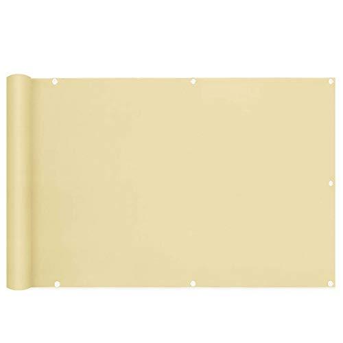 KANGLIPU Pantalla para Balcón Protección de Privacidad 0.8x3m Protección UV Resistente al Viento Balcon Lona Pantalla privacidad Balcon Fácil De Cuidar para Balcón, Jardín, Piscina, Caqui
