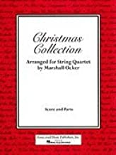 Ocker Marshal Christmas Collection For string quartet 2 violins, viola, cello by Associated Music
