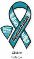 Car Magnet Ovarian Cancer Awareness 8 R Buy Online In Bahrain At Desertcart