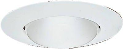 Cooper Lighting P14w White Open Recessed Emerald Trim Light Fixtures, Incandescent, Recessed