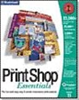 Print Shop Essentials Version 11 (PC CD-ROM)