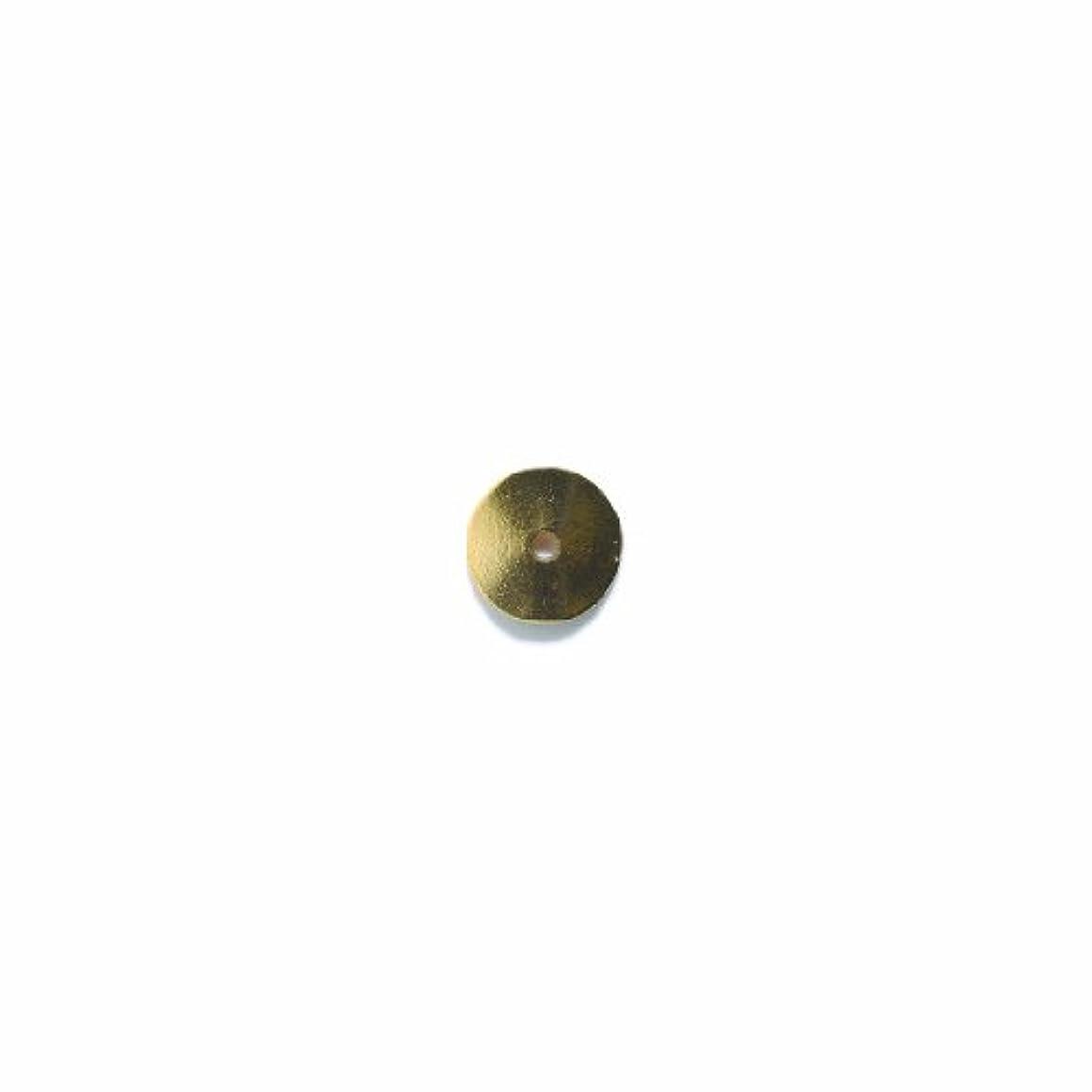 Shipwreck Beads Pewter Button Disc, Metallic, Antique Gold, 14mm, 4-Piece