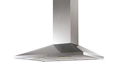 Campana de Cocina IHD CH Tulum de 90 cms en Acero Inoxidable con Ducto Extraible; con Diseño Innovador y…