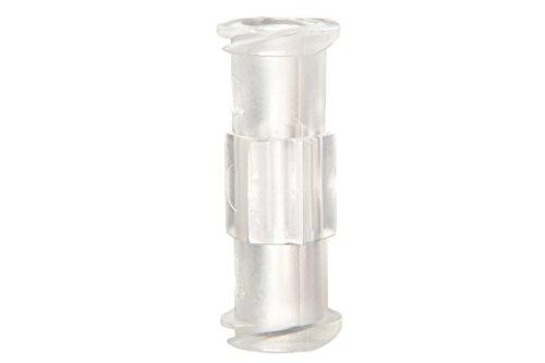 Syringe Adaptor/Coupler - Luer Lock - PP (Polypropylene) for Syringe to Syringe Transfer (Qty: 10)