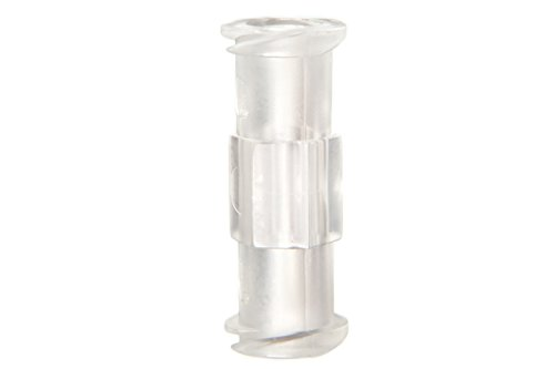 Syringe Adaptor/Coupler - Luer Lock - PP (Polypropylene) for Syringe to Syringe Transfer (Qty: 10)