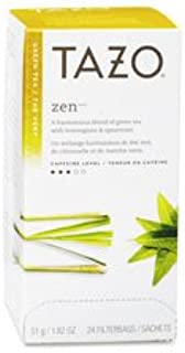 Starbucks 149900 Tazo Zen Tea, Green, 24/BX
