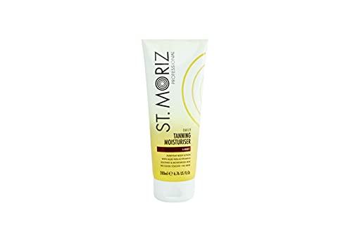 St Moriz Crema Hidratante Autobronceadora - Professional 21 G, Blanco/Dorado