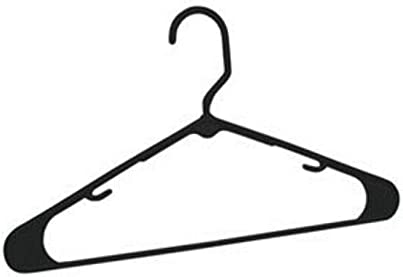 14 Plastic Hangers Black 10PK Clothing Challenge the lowest price of Japan Rack Max 80% OFF Close Clothes