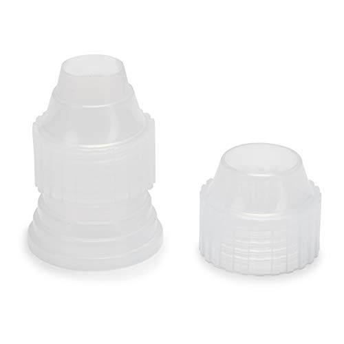 Patisse Universal Coupler for All Decorating Tips Clear/White Color 02409