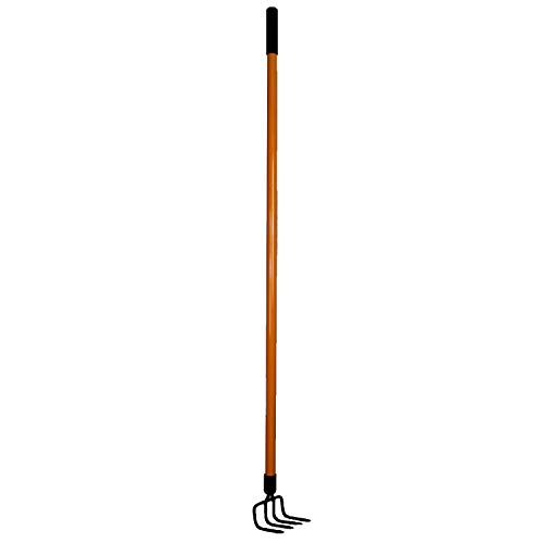 Ashman Garden Cultivator – Sturdy Hand Tiller/Cultivator – Heavy Duty Blade for Digging, Loosening Soil and Weeding – Equipped with Rubber Grip Handle for a Strong Hold When Working – Rust Resistant