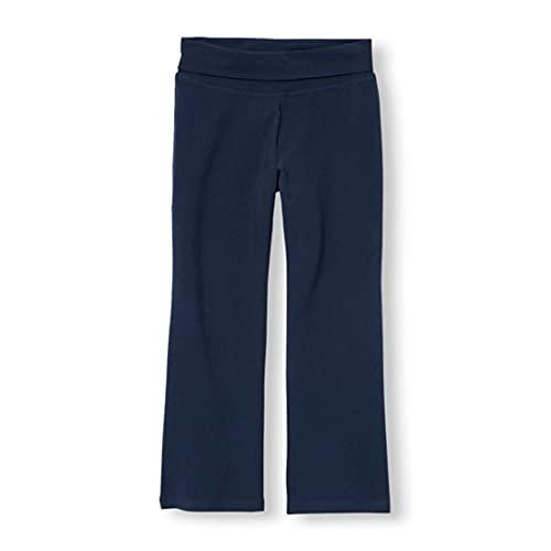 The Children's Place Girls' Uniform Active Foldover Waist Pants Tidal XXL...