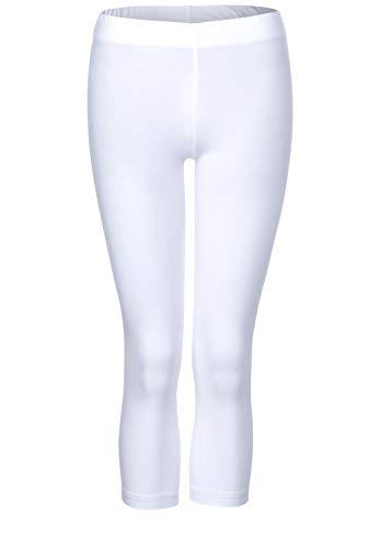 Cecil Damen 373073 Leggings 54cm Leg Length Hose, White, XXL