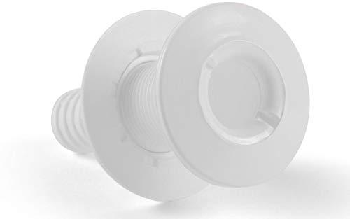 Borddurchlass 3/4 Zoll Kunststoff Weiß