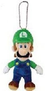 "Nintendo Global Holdings Super Mario Plush Key Chain - 5.5"" Luigi Mascot Strap"