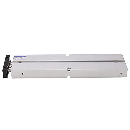 Cilindro de Aire Neumático Aleación de Aluminio Antióxido Tn16 0.1‑0.9Mpa 10‑200 Mm Componentes Neumáticos de Doble Acción(Tn16X175‑S)