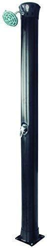well2wellness® Hochwertige Aluminium Solardusche Gartendusche 'Exquisit' 40 Liter (022504)