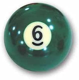 Bola de billar Nr. 6 bola de piscina Favoritos Número 6: Amazon.es ...