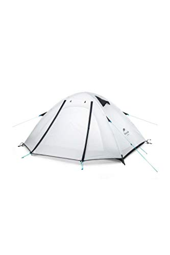 NATUREHIKE Adult P-Series Tent - Calcetines Unisex (Talla única), Color Blanco