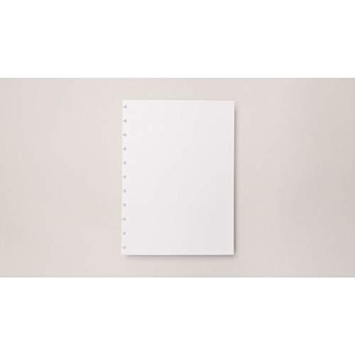 Refil de Folhas Para Caderno Inteligente, 2011190, Grande, Liso, 215x280 mm, 90 Gramas, 50 Folhas
