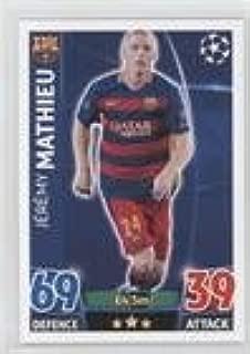 Jeremy Mathieu (Trading Card) 2015-16 Topps Match Attax UEFA Champions League - [Base] #240