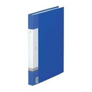 (業務用3セット) LIHITLAB クリアブック/クリアファイル リクエスト 〔B4/タテ型〕 固定式 G3212-8 青