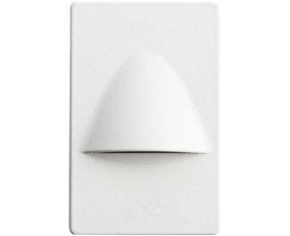 Kichler 12677WH Landscape Step, 4 Light LED 5.16 Total Watts, White