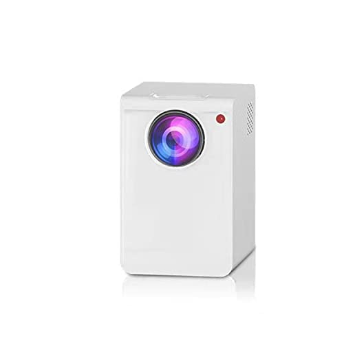 ABCD Proyector 4k de Ultra Alta definición, teléfono móvil doméstico, portátil Inteligente, proyector de Oficina pequeño de 1080p, Bluetooth/diseño Completamente Sellado/corrección Trapezoidal