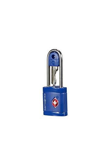 Samsonite Global Travel Accessories TSA Key Luggage Lock, 6 cm, Blue (Midnight Blue)